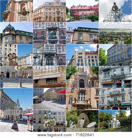One Sunny Summer Day In Lviv, Ukraine