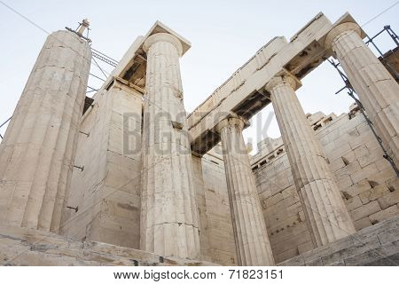 Temple Of Athena Nike In Acropolis