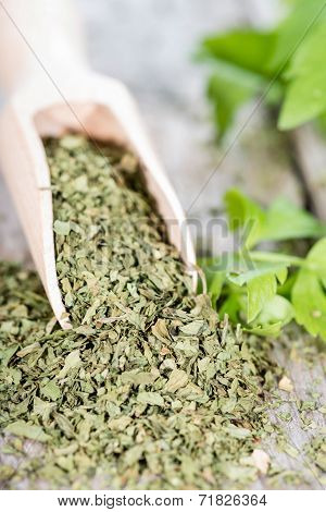 Heap Of Dried Lovage