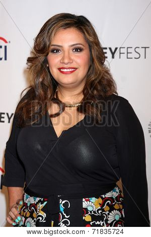 LOS ANGELES - SEP 11:  Cristela Alonzo at the Paley Center For Media's PaleyFest 2014 Fall TV Previews - ABC at Paley Center For Media on September 11, 2014 in Beverly Hills, CA