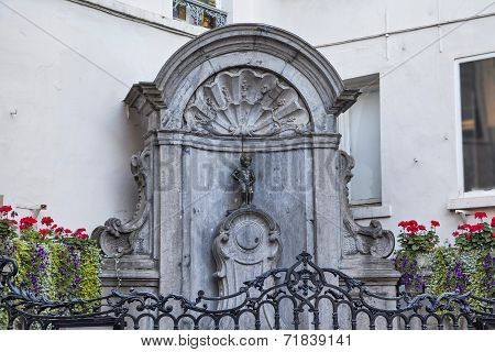The Famous Mannekene Pis