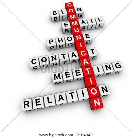 Crucigrama de la comunicación