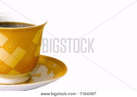 Gold Coffee Cup2