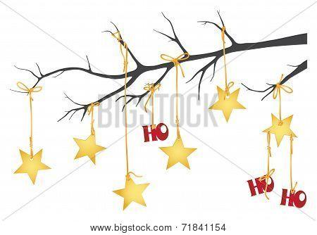 Ho Ho Ho Christmas Stars