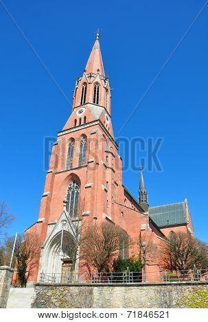 Church Sankt Nikolaus In Zwiesel, Bavaria