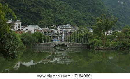 Yangshuo Town in Guilin