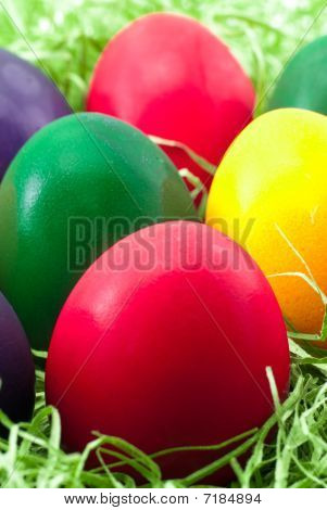 Easter Egg Closeup