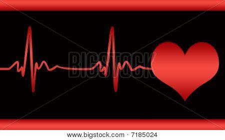 Cardiogram Of Heart