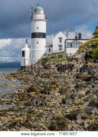 Cloch Lighthouse Near Gourock, Scotland
