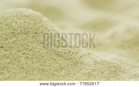 Lovage Powder Background