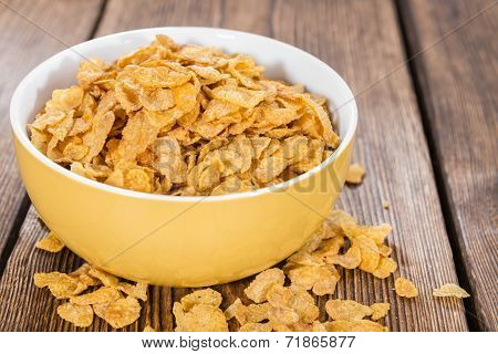 Portion Of Cornflakes
