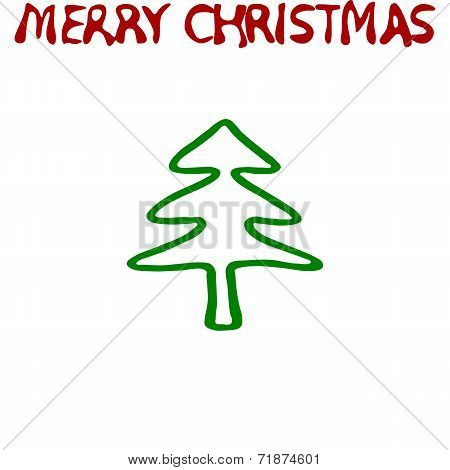 Merry Christmas tile able pattern