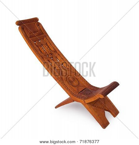 Unique Wooden Chair From Suriname