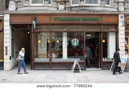 London Starbucks