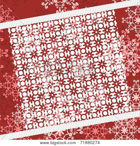 christmass and new year background with lace