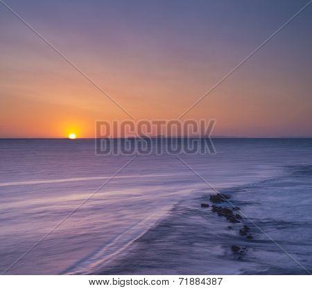 Rocky Coast Sunrise