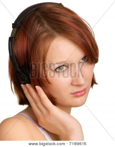 Music Girl Portrait