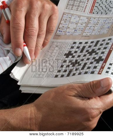 Crossword in Newspaper