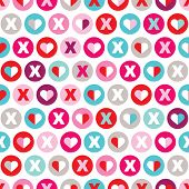 picture of xoxo  - Seamless xoxo love valentine - JPG