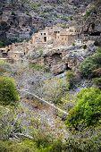 picture of jabal  - Image of ruins Wadi Bani Habib in Oman - JPG