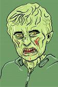 image of dreads  - dreadful zombie - JPG