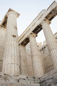 Постер, плакат: Columns In Temple Of Athena Nike