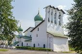 picture of epiphany  - Church of the Epiphany on Zapskovye was build in 1496 in Pskov Russia - JPG