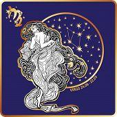 image of virgo  - Virgo zodiac sign - JPG