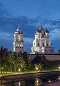 The Krom Or Kremlin In Pskov poster