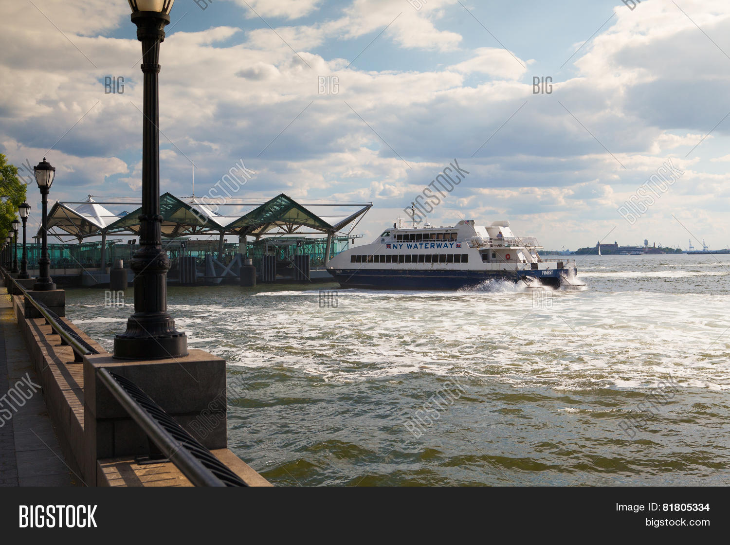 an analysis of the ferry near battery park Mla format irma and paul milstein division of united states history, local history and genealogy, the new york public library manhattan: battery park fountain near ellis island ferry house.