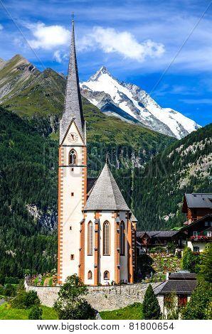 Grossglockner In Austria, European Alps