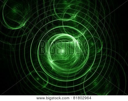 Colour Abstract Art Background Spiral.
