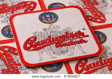 Beermats From Budweiser