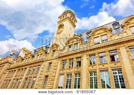 Sorbonne Or University Of Paris In Paris, France.