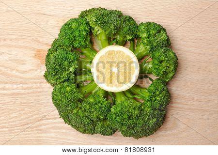 Broccoli and Lemon