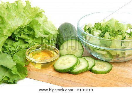 Verduras frescas saborosas