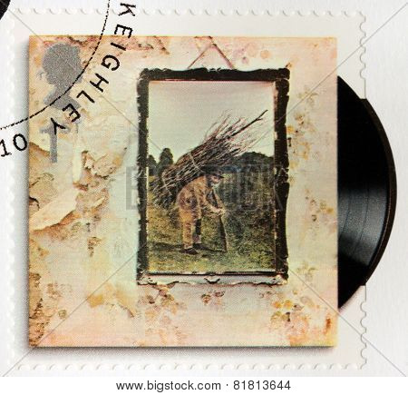 Led Zeppelin Stamp