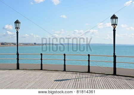 Worthing Pier And Seafront. England