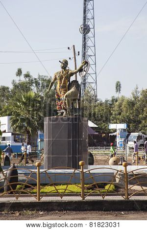 Monument In Addis Ababa