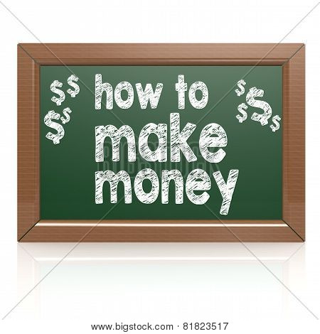 How To Make Money On A Chalkboard