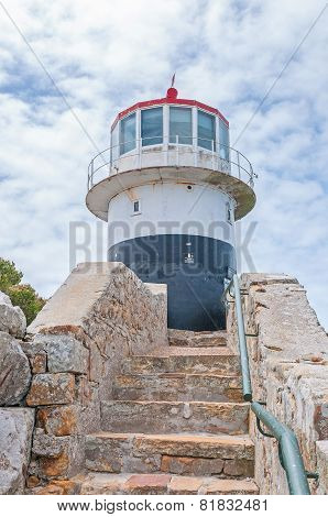 Historic Lighthouse At Cape Point