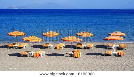 Greece. Kos Island. Kefalos Beach.