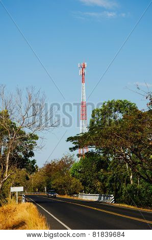 Mobile Telecommunication Post And The Road