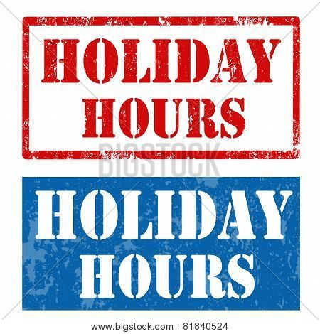 Holiday Hours-stamps