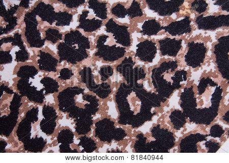 Leopard Pattern Fabric Texture