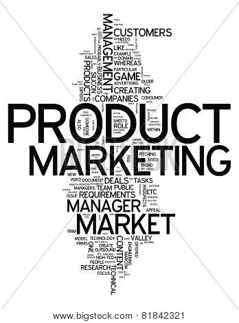 Word Cloud Product Marketing