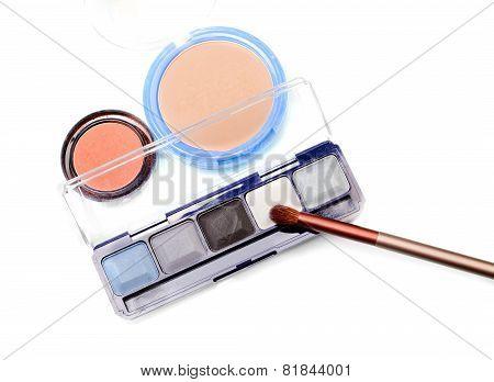 Eyeshadow And Foundation Ready