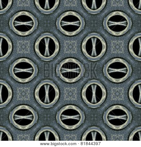 Futuristic Tech Pattern