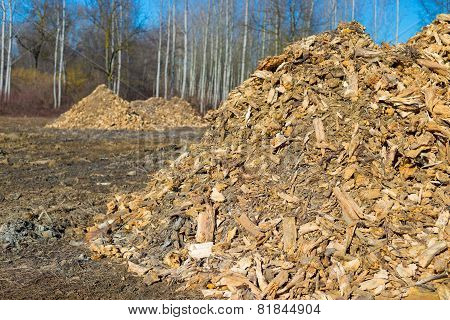 Biomass From Lumber Industry Discards