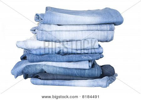 Stack blau Denim-Jeans